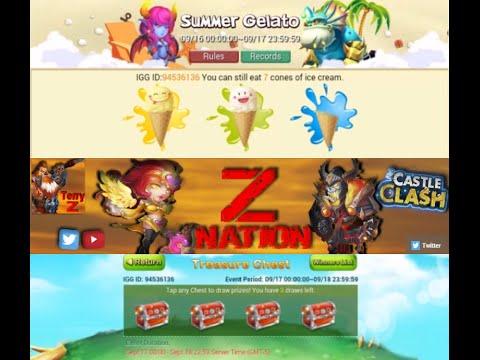 12 Chests For Demogorgon FOR ZNATION 24k Rolls For Medusa Castle Clash