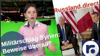 Militärschlag in Syrien: Giftgas-Beweise überall?