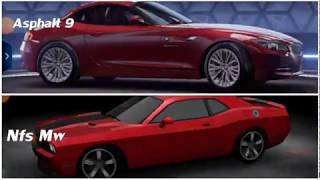 Need For Speed Most Wanted Vs Asphalt 9 Which Did U Like Best?