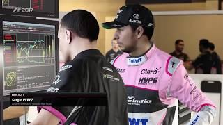 F1 2017 Career Mode Part 71 Bahrain Car Setup R&D Practice & Quali