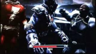 Mortal Kombat vs DC Universe subzero vs batman