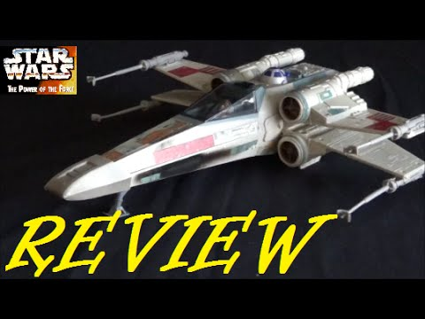 Luke Skywalker/'s Electronic X-Wing Fighter F//X STAR WARS POTF Power of the Force