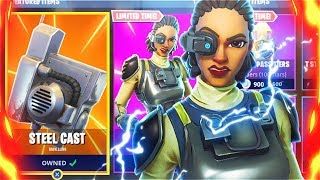 New STEEL SIGHT FREE Skins Update! New Fortnite Battle Royale Skins! (Fortnite Free Skins Update)