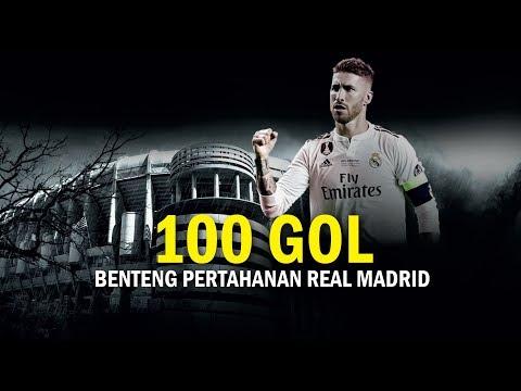 Catatan Gol Sergio Ramos di Sepanjang Karier Sepak Bola