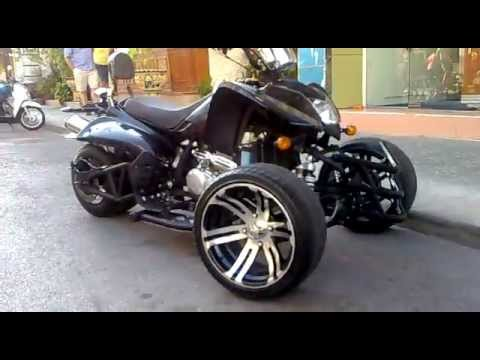 Custom Atv Trike Monster Youtube