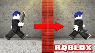 WIE ZU GLITCH THROUGH WALLS IN ROBLOX!!!