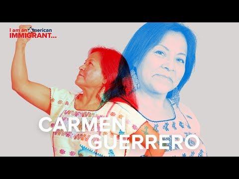 "Carmen Guerrero: ""Immigrants are slaves to Neoliberalism"""
