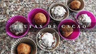 RECETA TRUFAS DE CHOCOLATE SALUDABLES   Ticky Gomezal