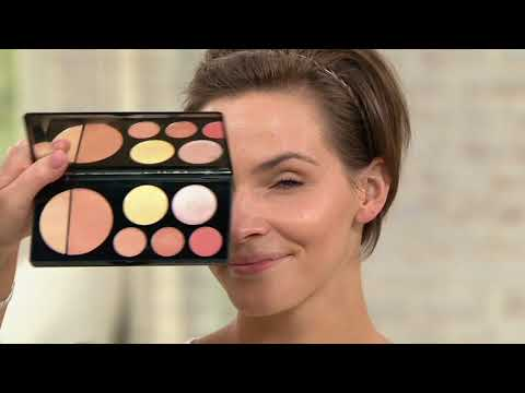 EVE PEARL Flawless Face Contour Palette On QVC