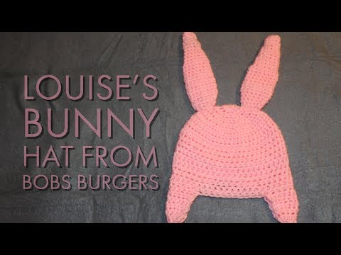 Louise's Bunny Hat From Bobs Burgers