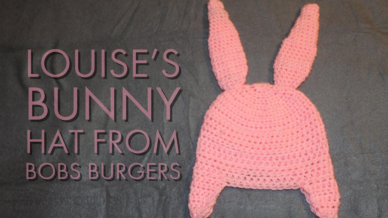 c328df262bb Louise s Bunny Hat From Bobs Burgers - YouTube