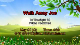 Trisha Yearwood (w/ Don Henley) - Walkaway Joe (Backing Track)