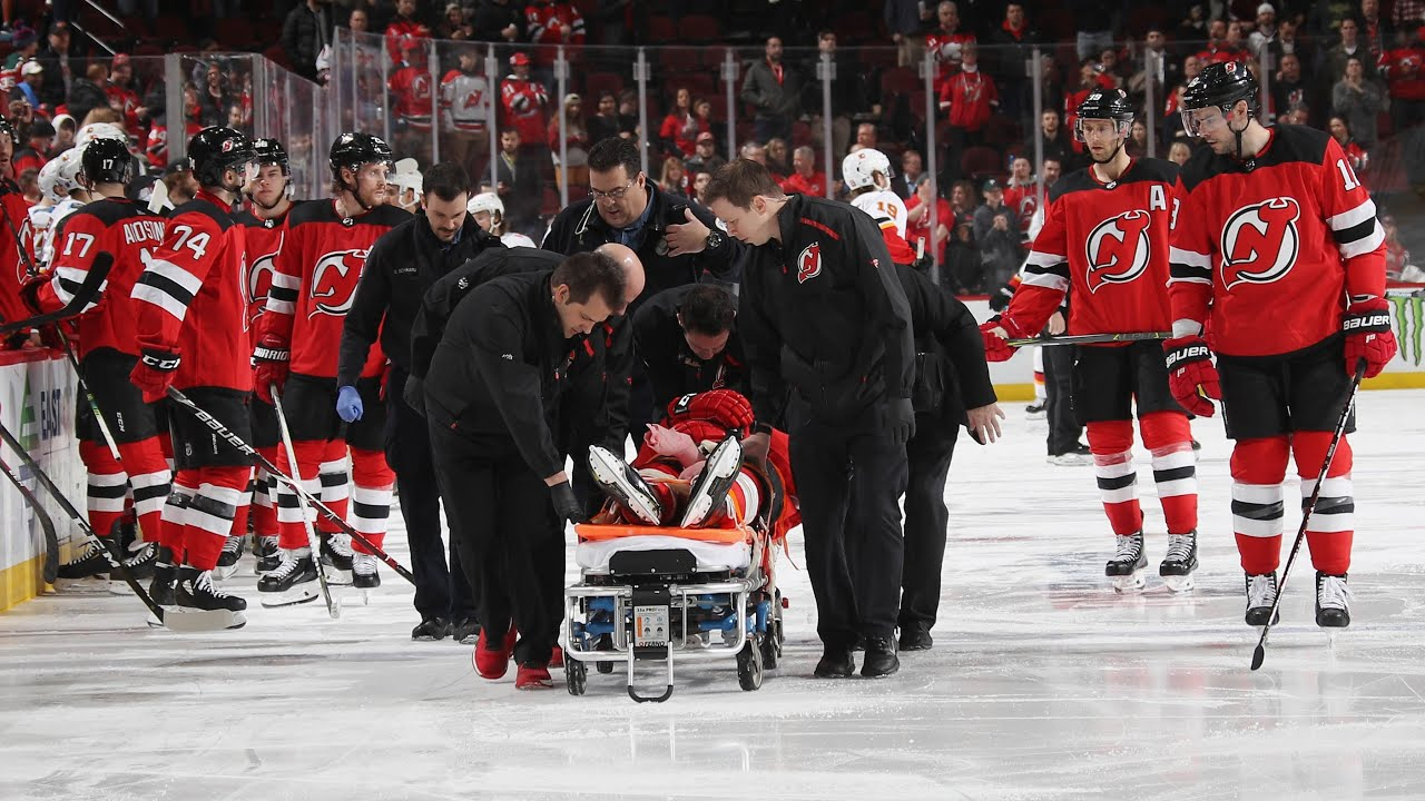 wholesale dealer d7f19 4b50b Banged-Up Devils Lose Mirco Mueller to Scary Injury | New Jersey Devils  Post Game
