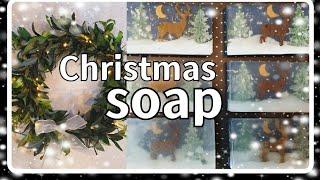 Making White Christmas Soap|성탄…