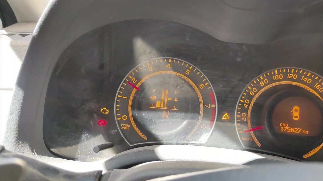 حل مشكلة ارتفاع عداد ال RPM في سيارة تويوتا كورولا