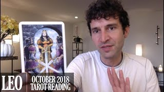 LEO October 2018 - Extended Monthly Intuitive Tarot Reading by Nicholas Ashbaugh