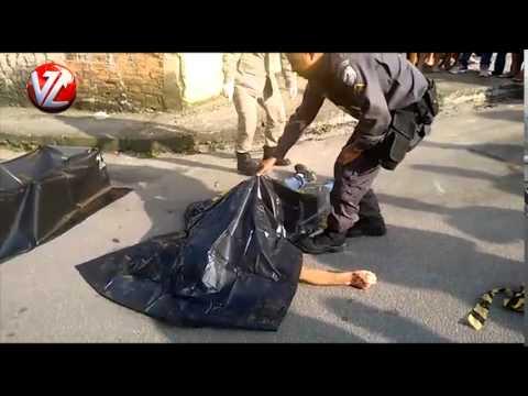 Mais imagens do homem assassinado no bairro Dom Bosco