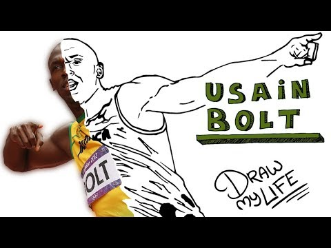 USAIN BOLT | Draw My Life