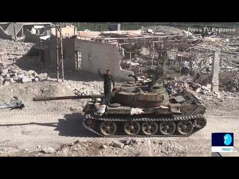 Ferocious Battle Taking Place In Syria's Ghouta