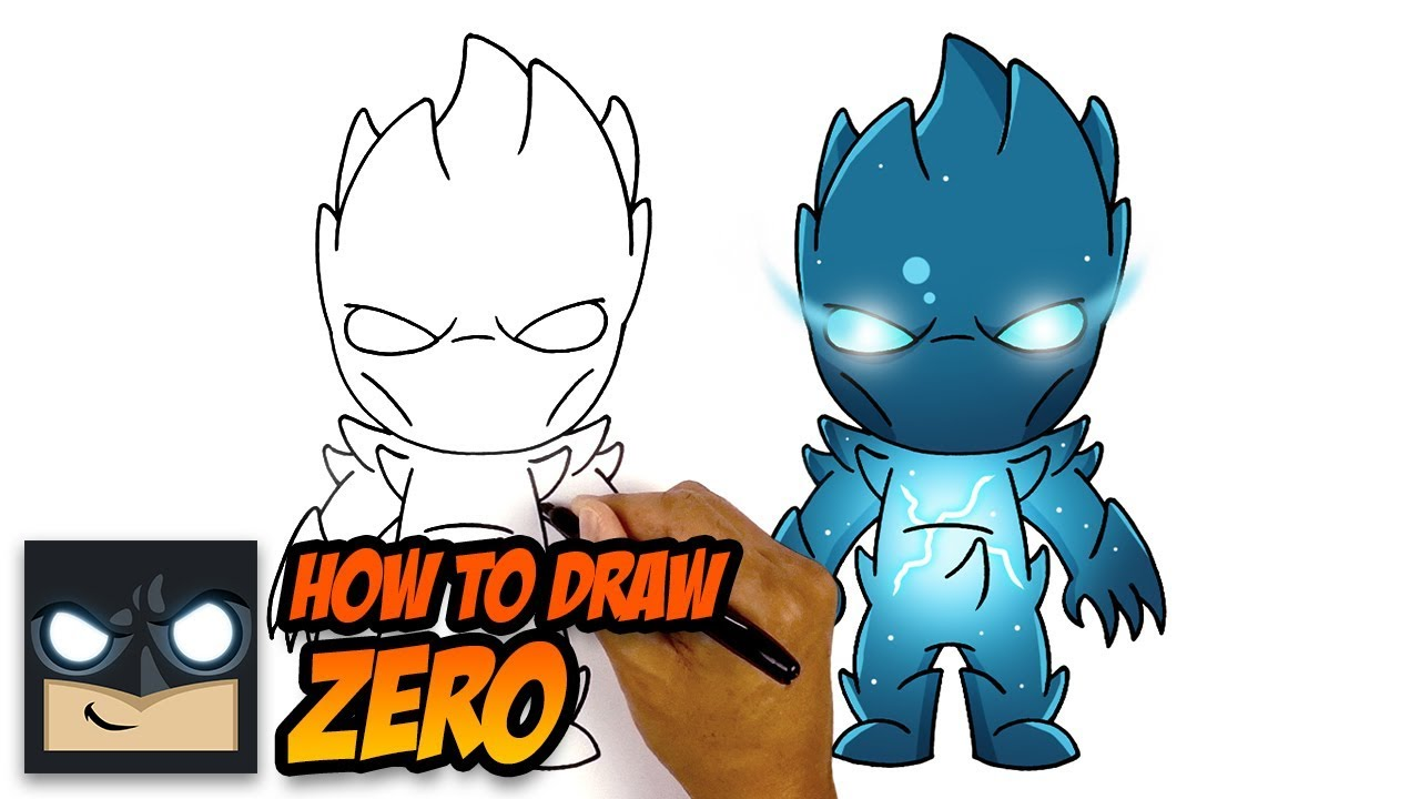 How To Draw ZERO   NEW Fortnite Season 11 Skin - YouTube
