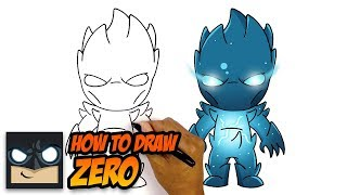How To Draw ZËRO | NEW Fortnite Season 11 Skin