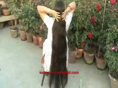 Summer Hair Styles Styling Of Oiled Hair By Asian Indian Woman