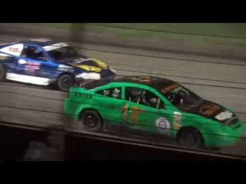 "IMCA Sport Compact ""Liberty 100"" feature West Liberty Raceway 9/24/16"