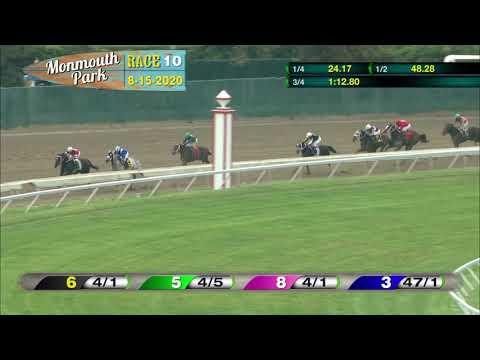 video thumbnail for MONMOUTH PARK 08-15-20 RACE 10 – TVG.COM PEGASUS STAKES