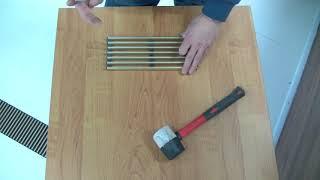 Ремонт декоративної решітки конвектора Mohlenhoff заміна прутків