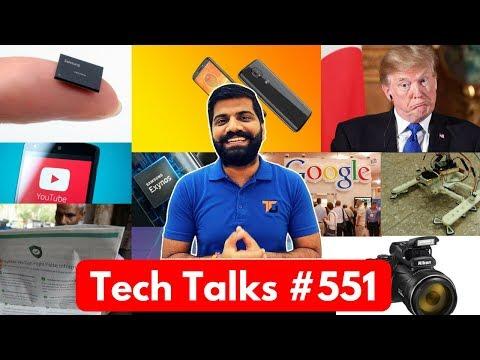Tech Talks #551 - Samsung 9820, Nokia X5, Whatsapp Ads, Google MLCC, Smart Bandage, Moto E5