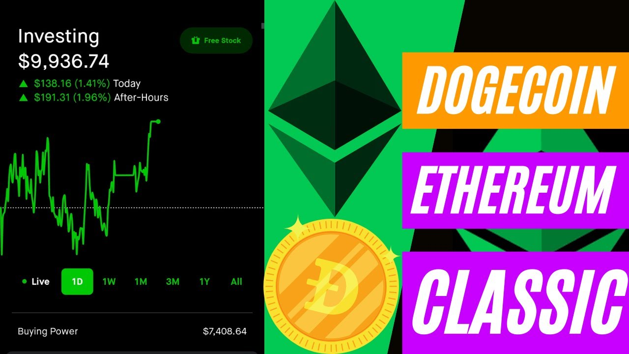 Ethereum Classic Hits All-Time High Price, Beats Dogecoin ...