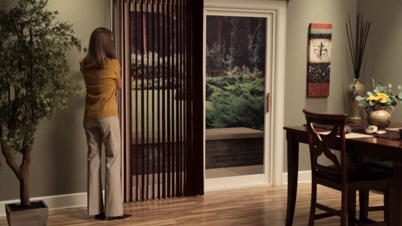 Hunter Douglas Vertical Blinds Operating Systems Youtube
