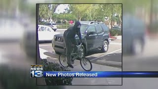 FBI release photos of bank robbery suspect