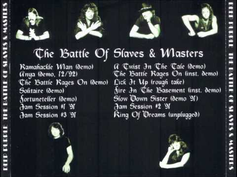 1991-1992 - The Battle Of Slaves & Masters (1991-1992 Studio Rehearsals) 2009