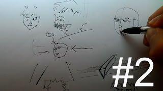 Как рисовать мангу дома| Часть 2: Персонажи(Обратите внимание, что это не обучение построению тела и головы, это некоторые аспекты рисования. ----------..., 2014-12-04T14:43:15.000Z)