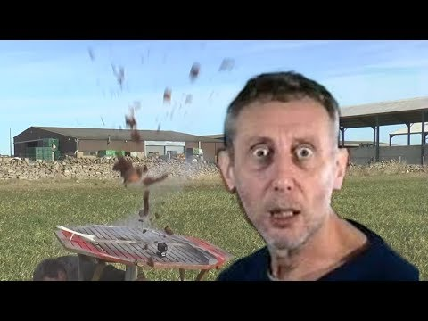 {YTP} Michael Rosen Sees Colin Furze Destroy his Chocolatecake