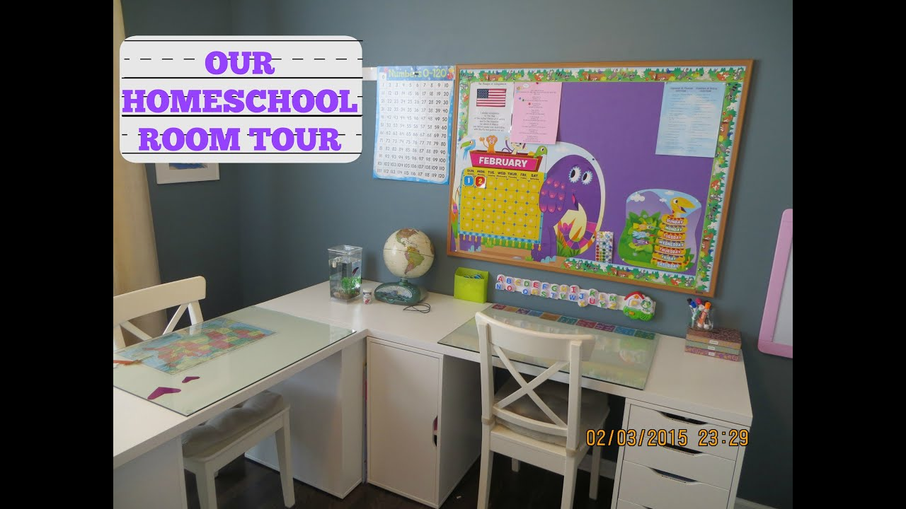 Our Updated Homeschool Room Tour Featuring IKEA