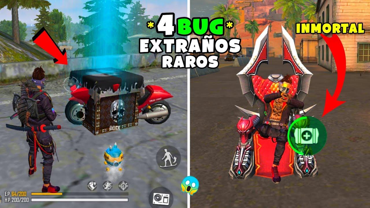 4 NUEVOS BUG SUPER EXTRAÑO Y RARO EN FREE FIRE *IsAac19*