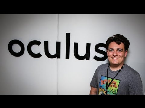 """Oculus Founder Palmer Luckey """"Leaves"""" Facebook."""