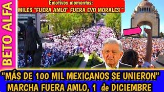 """🛑DESPERTÓ EL TIGRE"""" ASI SE VIVIO M4RCHA 1 DE DICIEMBRE 2019 MÉXICO   BETO ALFA NOTICIAS"""