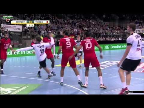 GERMANY VS TUNISIA HandBall TEST MATCH