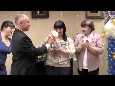 Вручение наград сотрудникам редакции и песня Валерия Серебренникова в часть праздника