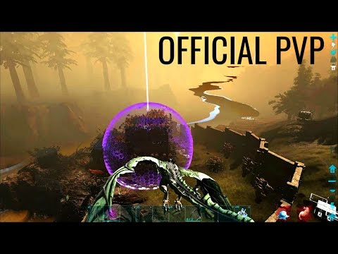 BATTLE HIGHLIGHTS and TEK Force Field! - Official PVP (E149) - ARK Survival