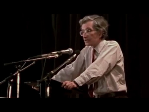Noam Chomsky - Freedom of Speech for Views You Don