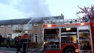 Uitslaande woningbrand aan de Leharstraat in Dongen (2013-05-03)
