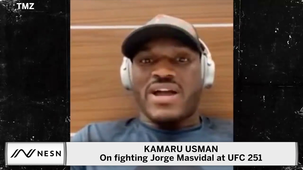 Kamaru Usman Vows To 'Ragdoll' Jorge Masvidal, Take BMF Belt