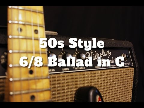 50s Style 6/8 Ballad in C (Backing Track)