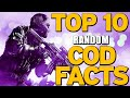 """Top 10 """"RANDOM COD FACTS"""" In Cod History (Top 10 - Top Ten) """"Call of Duty"""" 