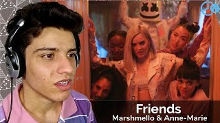 Marshmello & Anne-Marie - Friends (Friendzone Anthem ) Reaction / Reação