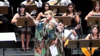 """FADO de Ernesto Halffter: """"ai que linda moça"""" - Elisabete Matos & Orquestra de Bandolins da Madeira"""